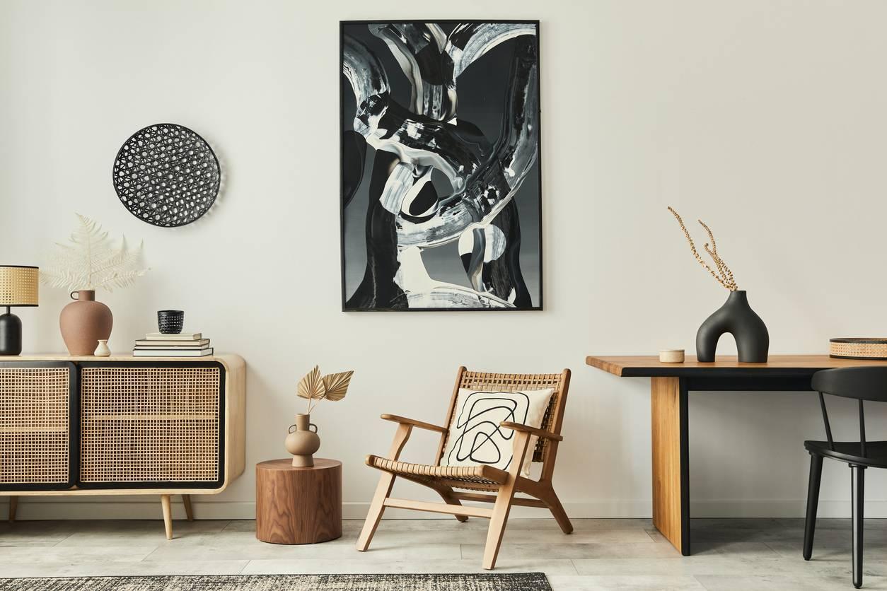 tableau abstrati contemporain